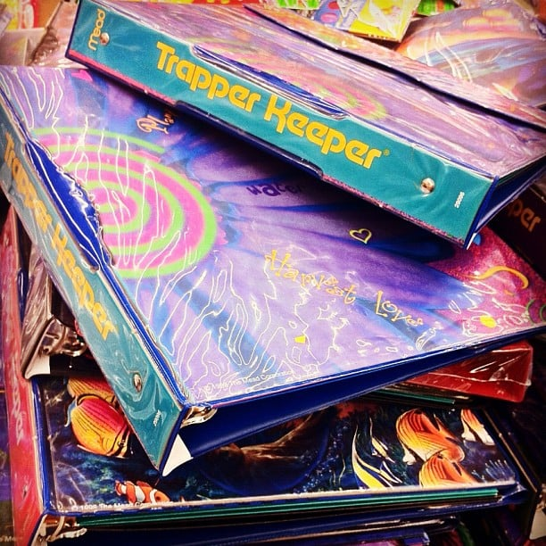 Carrying Our Trapper Keepers
