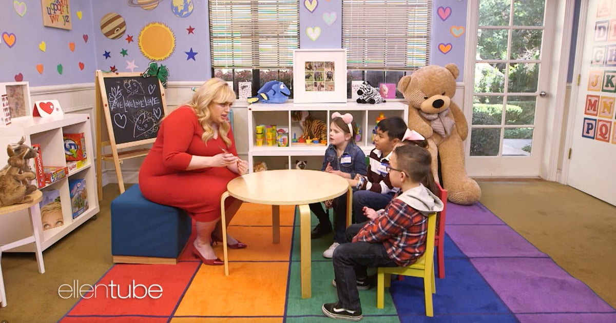 Rebel Wilson Shared Her Favourite Tinder Tips With a Group of Kindergarteners, and . . . Just Watch