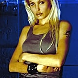 Angelina rocked platinum blond locks in 2000's Gone in 60 Seconds.