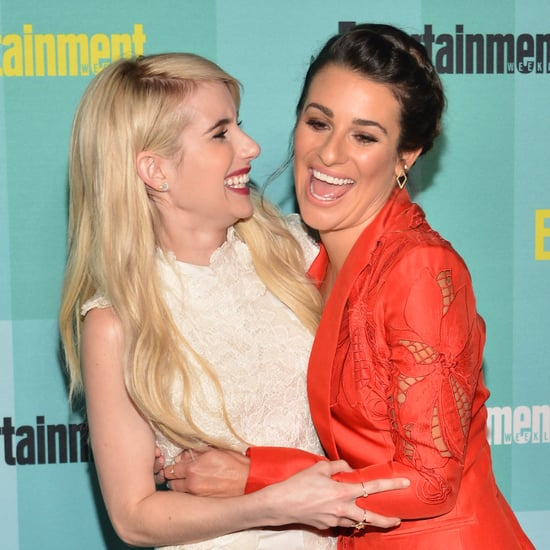 Emma Roberts and Lea Michele Pictures
