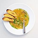 Easy Vegetarian Recipe: Green Garlic Soup