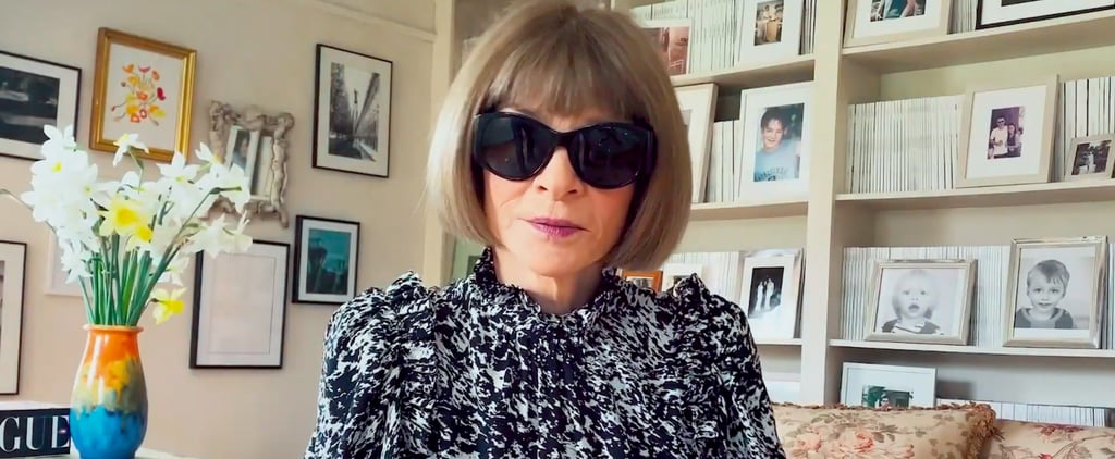 Anna Wintour's Home Office in A Moment With the Met Video