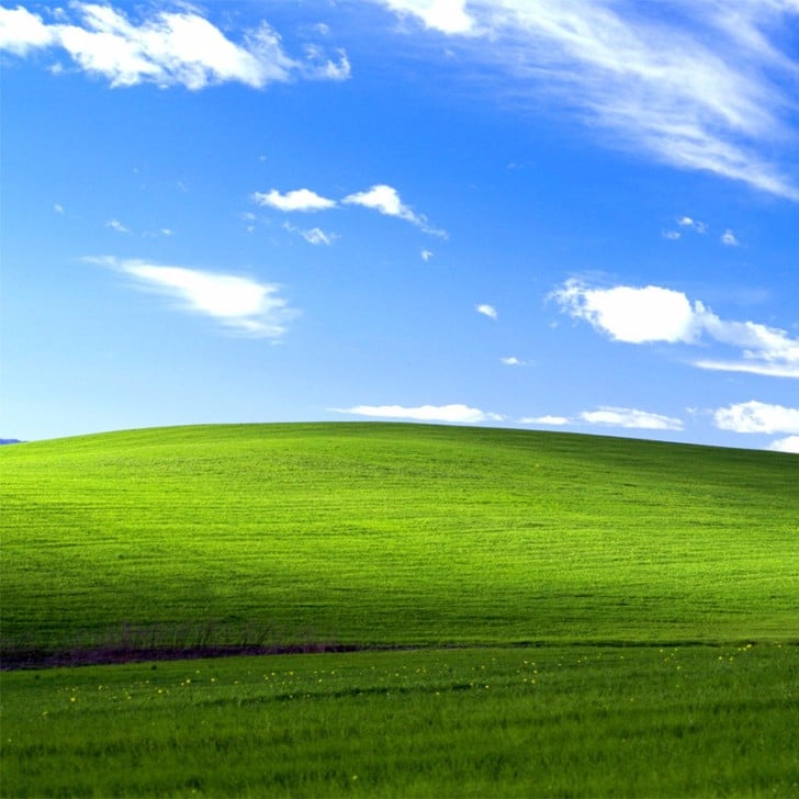 Windows xp background now and then popsugar tech sciox Images