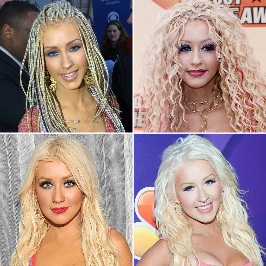 Pictures of Christina Aguilera Through the Years