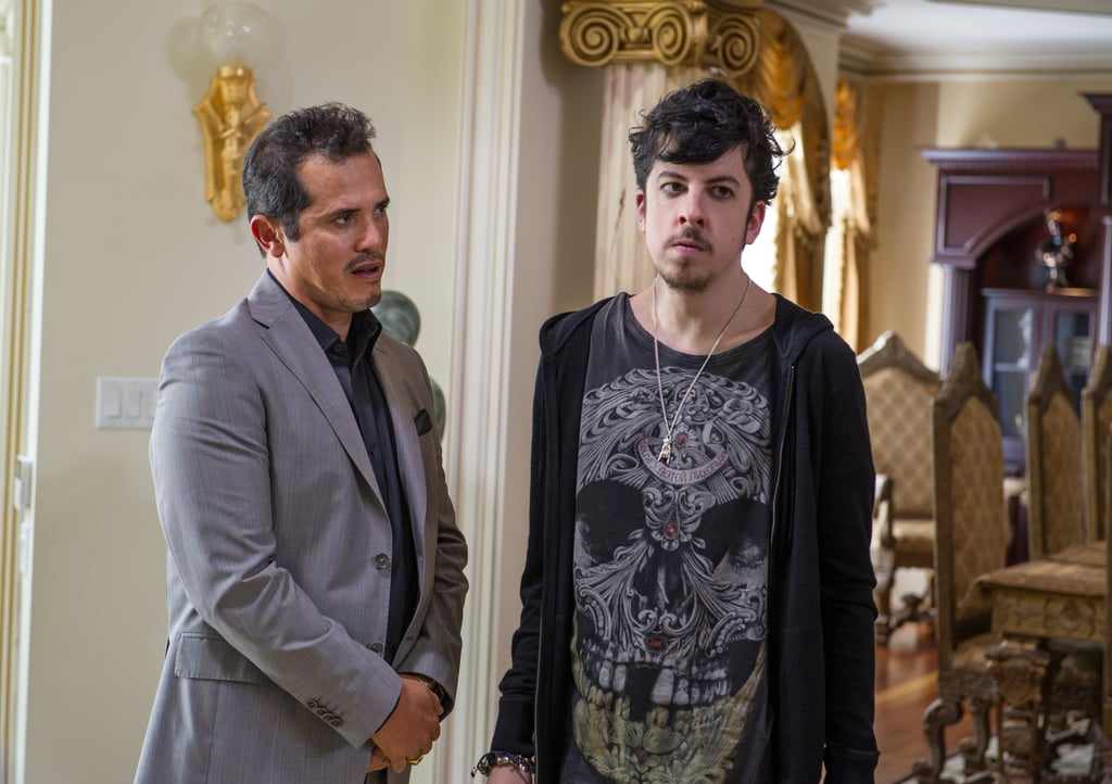 John Leguizamo and Christopher Mintz-Plasse in Kick-Ass 2.