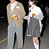 Calista Flockhart and Harrison Ford as Nerds