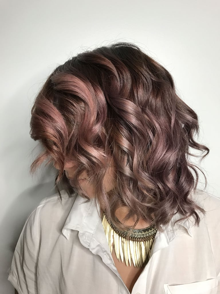 Chocolate Mauve Hair Color