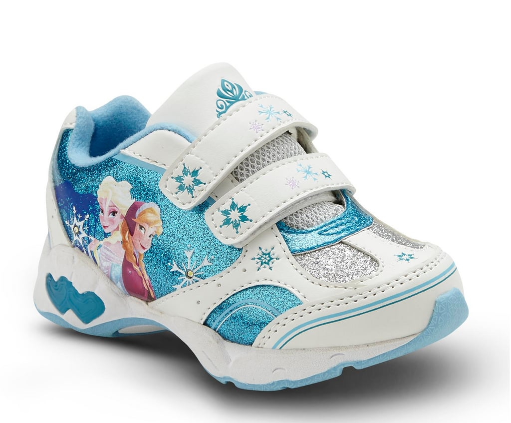Disney Frozen Toddler Girl's Light Up Sneakers