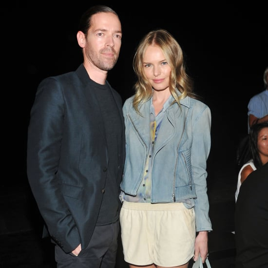 Kate Bosworth and Michael Polish at Fashion Week