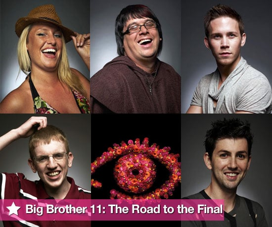 Pictures of Big Brother 11 Finalists Josie, Dave, JJ, Andrew and Mario Ahead of Grand Finale on Tuesday 24 August