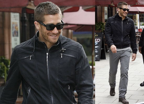 Candid Pictures of Jake Gyllenhaal Out in London Smiling and With Shades On, Promoting Prince of Persia 2010-05-05 23:00:00