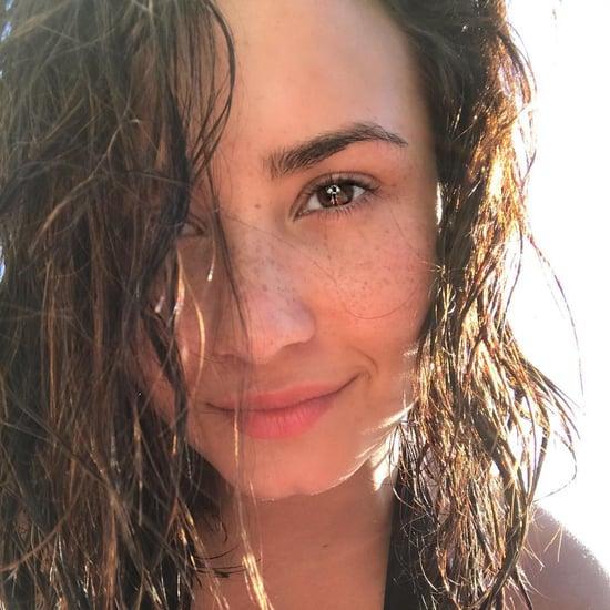Demi Lovato No-Makeup Selfies