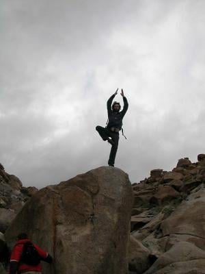 Words That Move You...Yoga and Rock Climbing