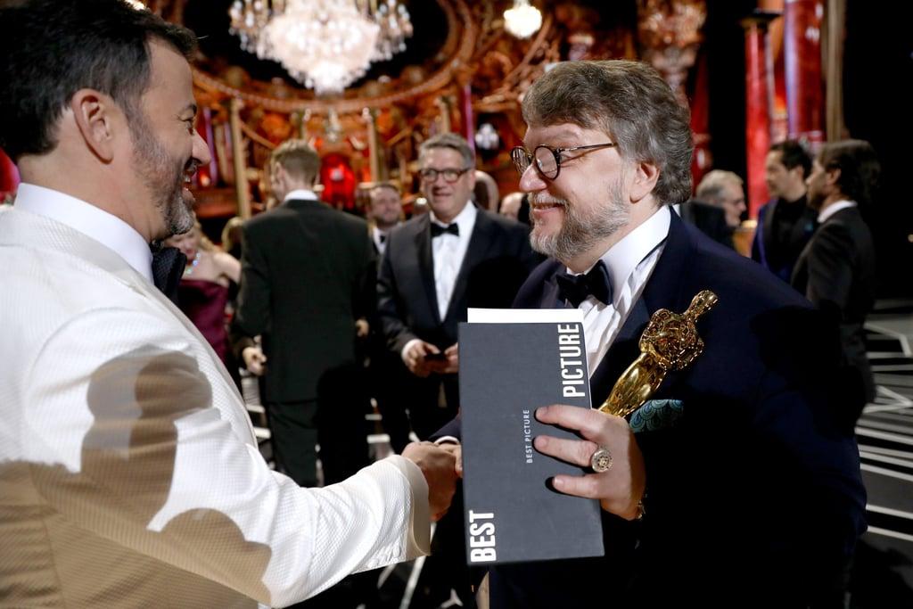 Large Oscars Envelope Font 2018