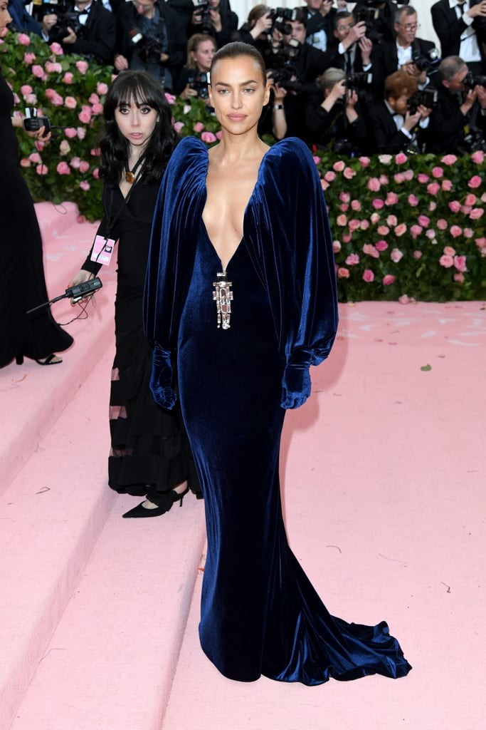 Irina Shayk at the 2019 Met Gala