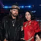 Billy Ray and Noah Cyrus at the 2020 Grammys