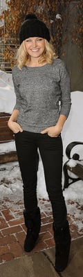 Malin Akerman Style at 2010 Sundance Film Festival