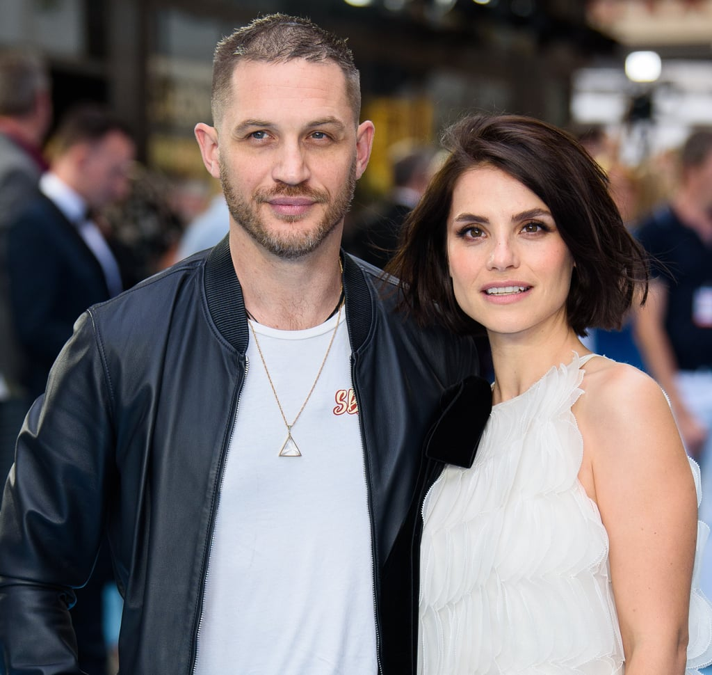 Tom Hardy and Charlotte Riley Swimming With Men Premiere ...