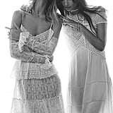 Rosie Huntington-Whiteley and Lily Aldridge on Elle 2016