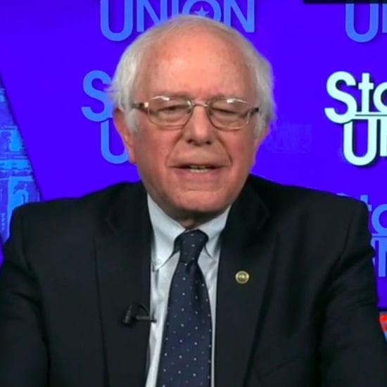 Bernie Sanders Calls Trump a Fraud