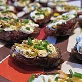 Vegetarian Appetizers: Goat Cheese and Pistachio-Stuffed Dates