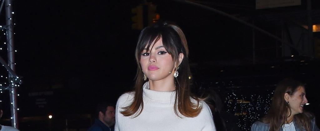 Selena Gomez's By Far Croc Effect Bag