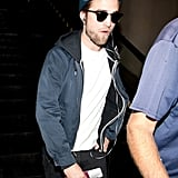 Robert Pattinson was at LAX.