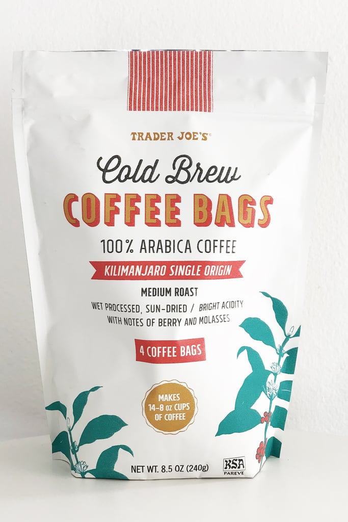 Cold Brew Coffee Bags 6 Best New Trader Joes Products 2018