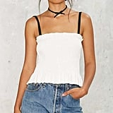 Factory Strap It Together Tube Top ($48)