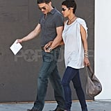 Halle Berry and Olivier Martinez Share a Romantic Lunch and Shopping Trip
