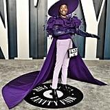 Billy Porter at the 2020 Vanity Fair Oscar Party