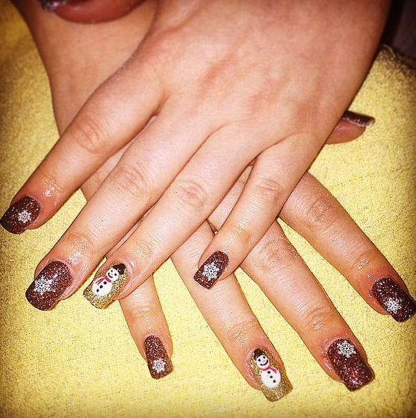 50 Christmas Nail Art Ideas For Festive Fingertips