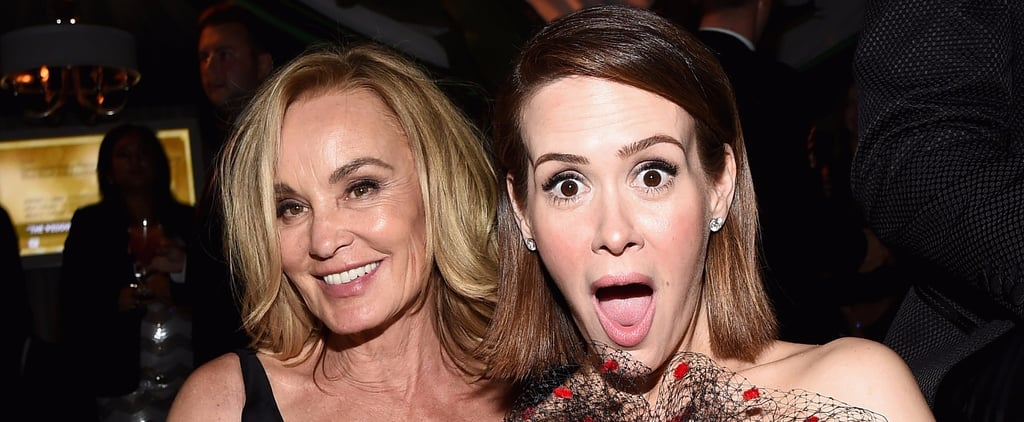 Sarah Paulson Quotes About Jessica Lange in Adweek Oct. 2017