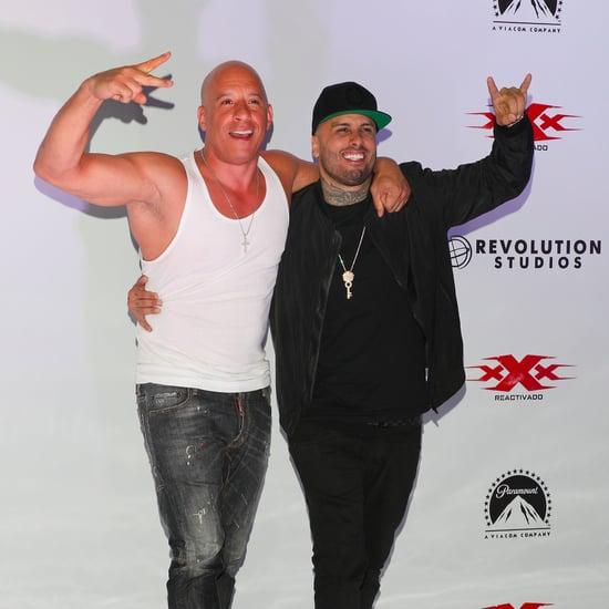 Vin Diesel Performing With Nicky Jam Video