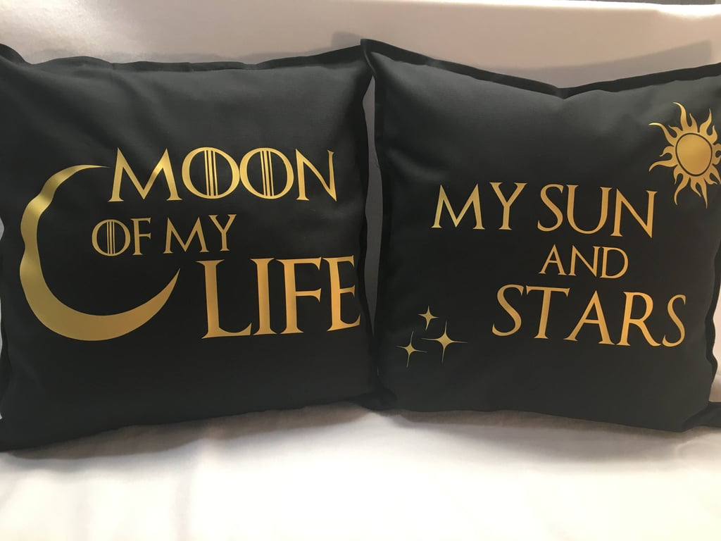 Game Of Thrones Pillow Set Game Of Thrones Home Decor Popsugar