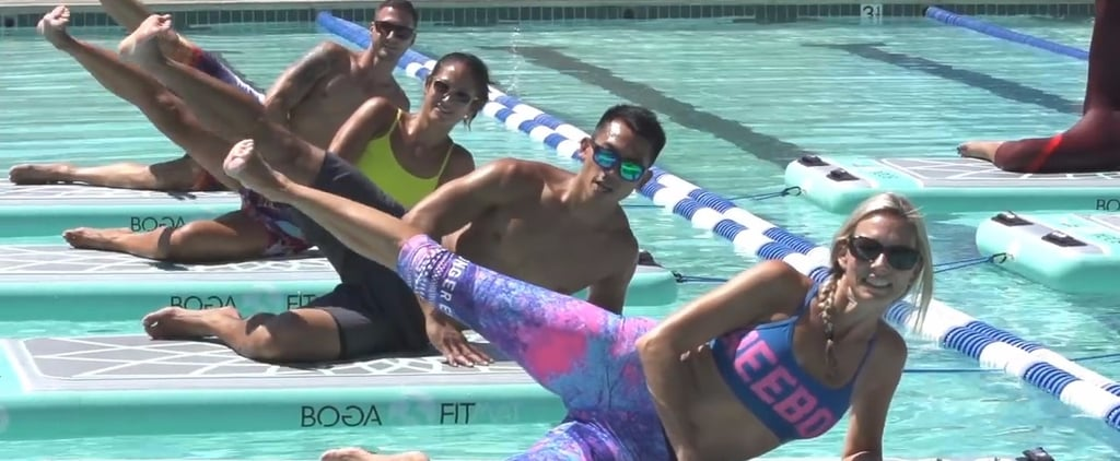 This Yoga Workout Literally Lets You Walk on Water