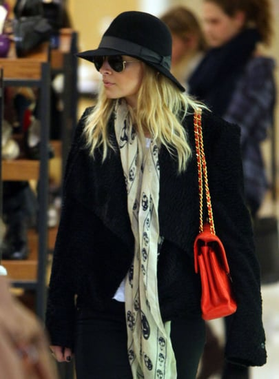 Nicole Richie out doing some last minute Christmas shopping at Barneys New York in Beverly Hills, CA.