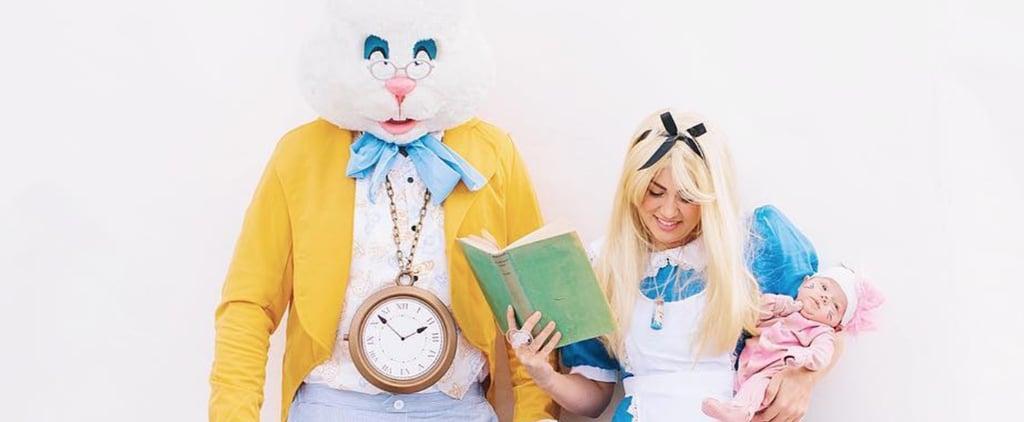 Jillian Harris's Alice in Wonderland Halloween Costume 2018