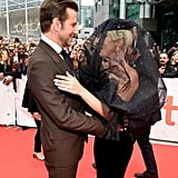 They looked really excited to reunite on the red carpet at TIFF for the premiere of their film.