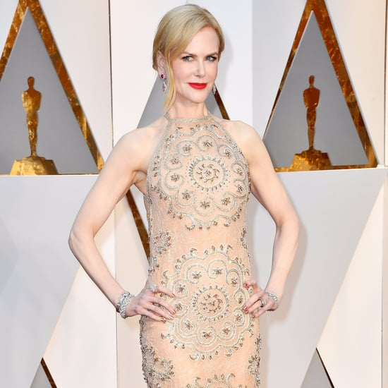 Nicole Kidman Oscars Red Carpet Dress 2017