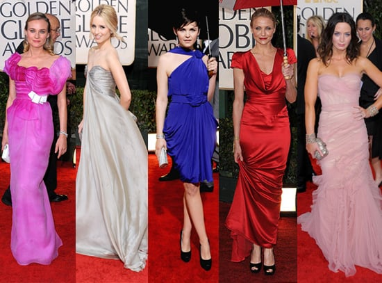 FabSugar Best Dressed at 2010 Golden Globe Awards