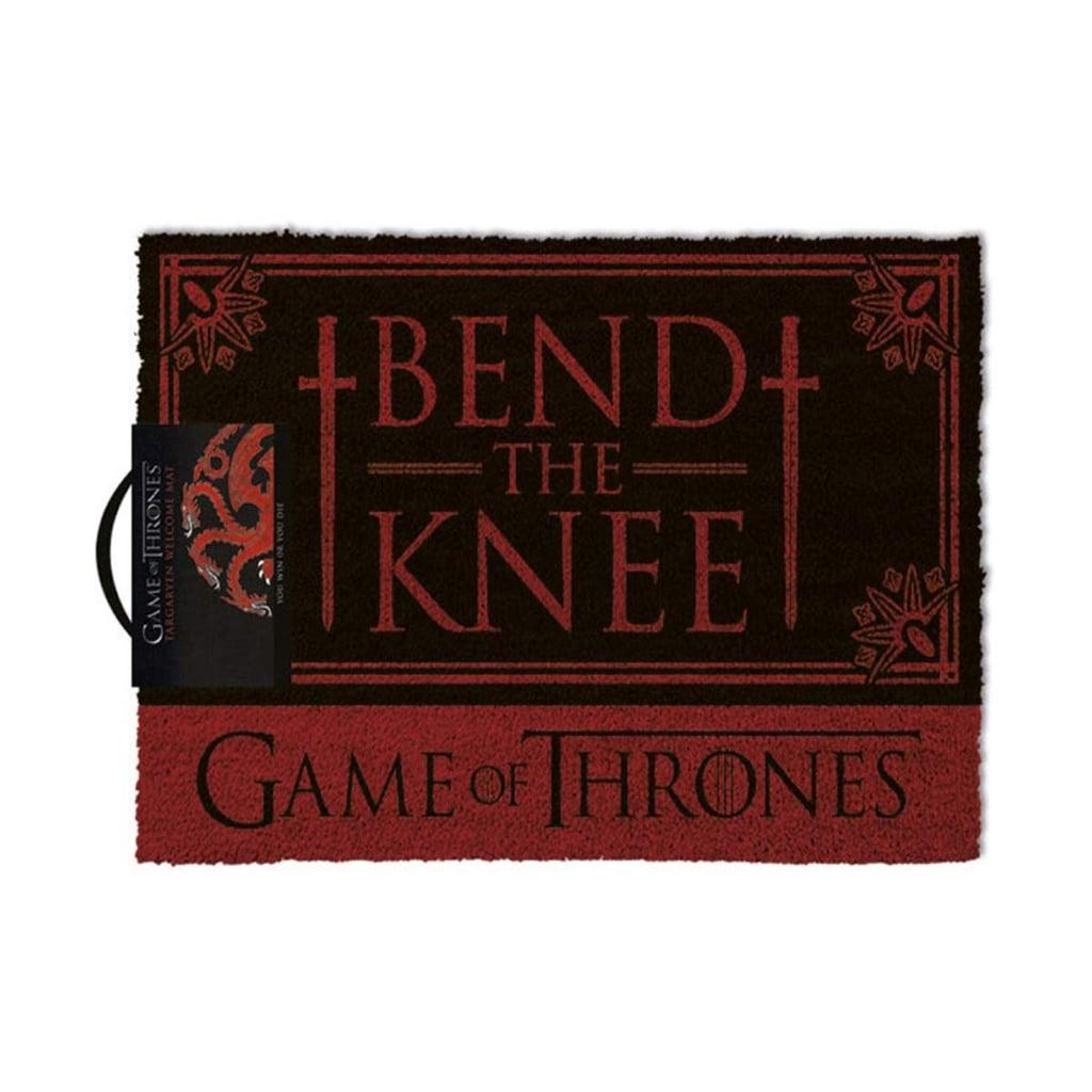 Bend the Knee Outdoor Doormat