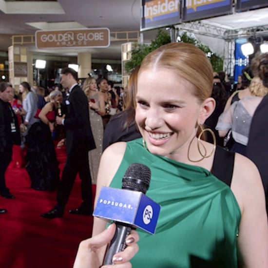 Anna Chlumsky Interview About Veep at the Golden Globes 2017
