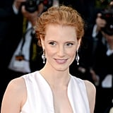 Jessica Chastain at the Moonrise Kingdom Screening