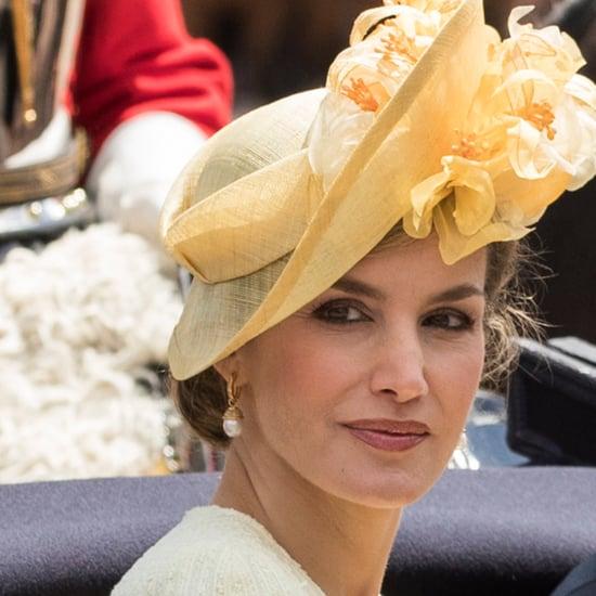 Queen Letizia Felipe Varela Set July 2017