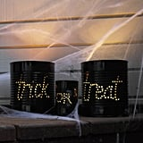 Lighted Cans