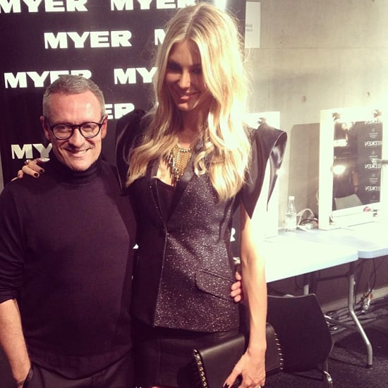 Celebrity Twitter and Instagram Pictures From MBFWA 2013