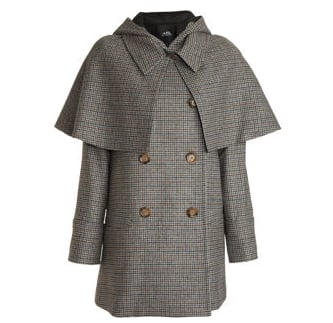 A.P.C Sherlock Cape Coat ($249, originally $620)