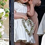 Princess Charlotte served as one precious flower girl during her aunt Pippa's May wedding, and it looks like she took her duties very seriously.