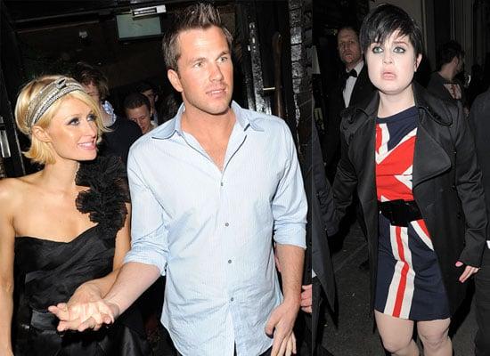 Photos of Kelly Osbourne, Paris Hilton and Doug Reinhardt in London